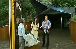 Will, Kate & George at Taronga Zoo