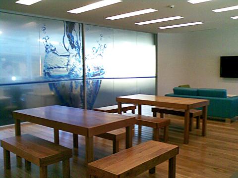 Blackbutt tables & bench seats (Sydney Water)