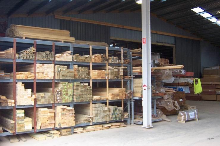 Austimber facility - timber racks