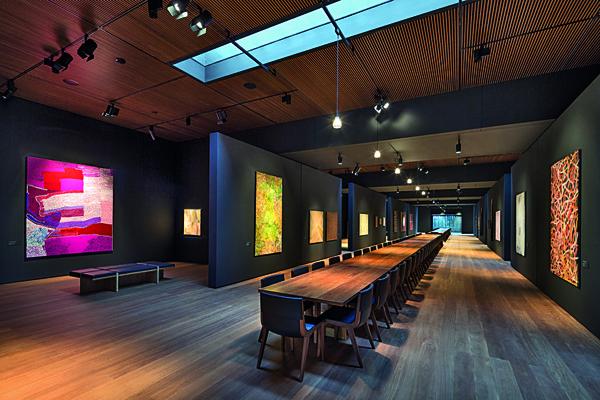 Garangula Gallery - Reclaimed Tallowwood tables