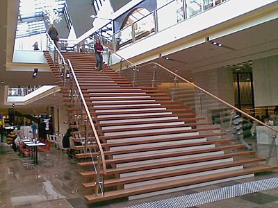 Large Bluegum Stair - Westfield Doncaster