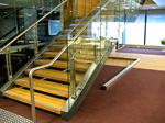 American Oak Stair Treads Glue Laminated