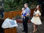 William, Kate & George at Taronga Zoo
