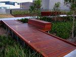 Rouse Hill Town Centre - boardwalk decking