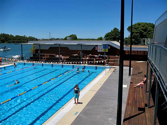 Cabarita Swimming Centre - Turpentine decking
