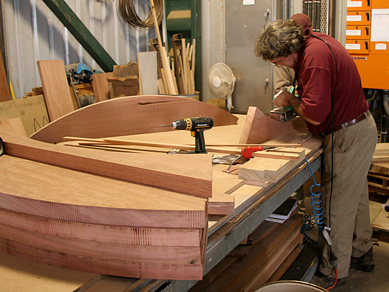 Custom timber components
