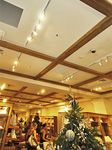 Spotted Gum Ceiling Beams