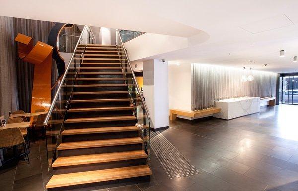 Blackbutt staircase - Holt & Hart