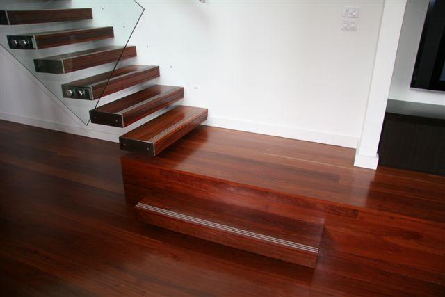 Red Ironbark Stairs - Empire House