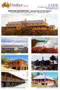 Quarantine Station buildings H1 & P22 destroyed by fires (2001/2002)