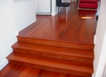 Red Ironbark flooring - 130mm wide
