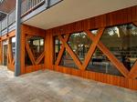 Warrandyte Community Centre - Shiplap Cladding & Window Beams