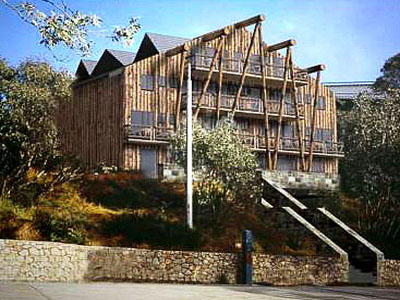 Timber Round-backs - Silverski Resort