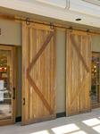 Spotted Gum Barn Doors