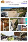 Tamarama Beach Kiosk - Recycled Spotted Gum
