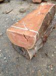 'Reclaimed' Bluegum Log Seats