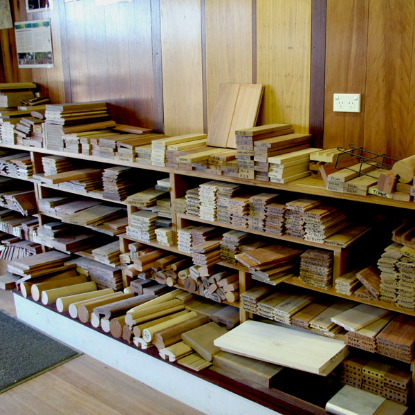 Austimber facility - timber samples readily available