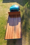 Timber truck tray