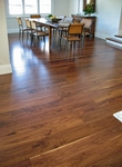 Walnut flooring - 180mm wide