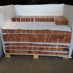Timber Bricks for Screen Wall